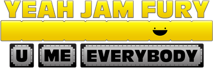 Yeah Jam Fury: U, Me, Everybody! Logo