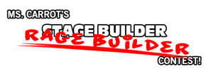 Ms. Carrot's Stage Builder Rage Builder Contest Logo