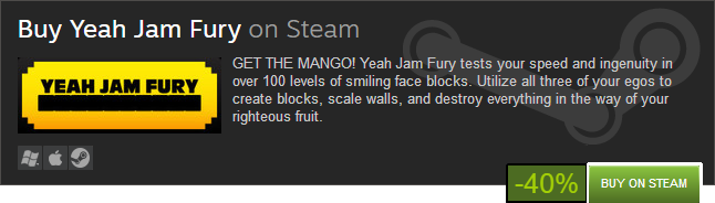 Yeah Jam Fury: U, Me, Everybody! 40% Discount