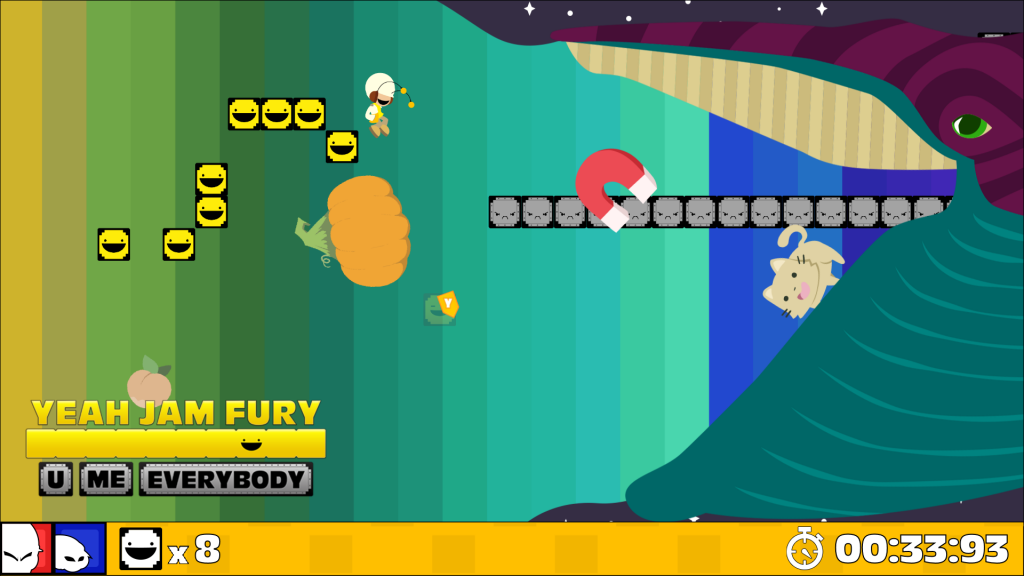 Rainbow Space screenshot from Yeah Jam Fury: UME