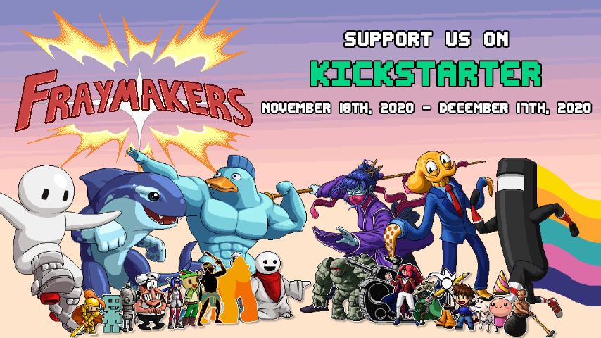 Support Fraymakers on Kickstarter